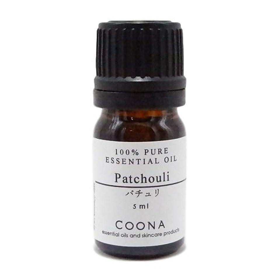 ナプキン層ペックパチュリ 5 ml (COONA エッセンシャルオイル アロマオイル 100%天然植物精油)