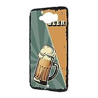 ハードケース スマホケース AQUOS SERIE SHV32 用 BEER ビール・グリーン ビンテージ アメリカン レトロ USA SHARP シャープ アクオス セリエ au スマホカバー けーたいケース けいたいカバー beer_00z_h191@03