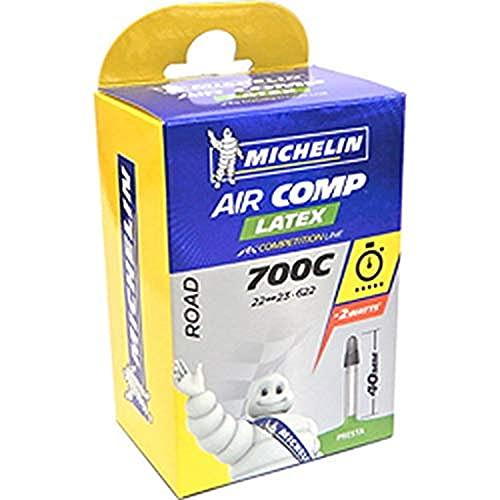 Tubo de bicicleta de carretera michelin a1 aircomp latex 700x18c 700x20c presta 36 mm