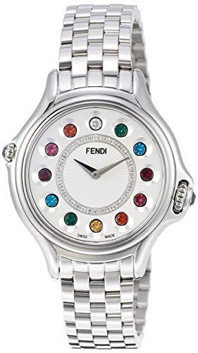 [フェンディ] 腕時計 CrazyCarats ホワイト文字盤 F107024000D2T05 レディース 並行輸入品 シルバー