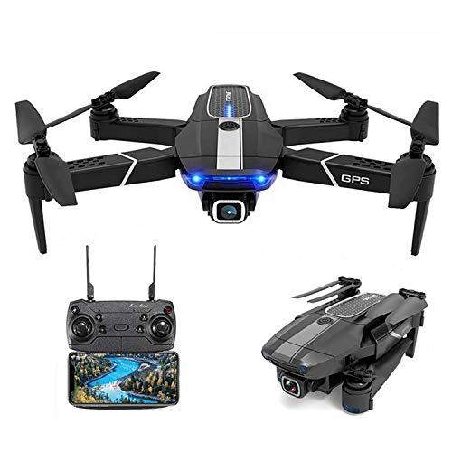 XIAOKEKE JD-22S GPS Drohne Mit 4K Kamera HD Live Übertragung Für Kinder, RC Quadcopter Ferngesteuert Mit Follow Me, Auto Rückkehr, APP Handy Gesteuerte FPV Drohnen Mit Tasche