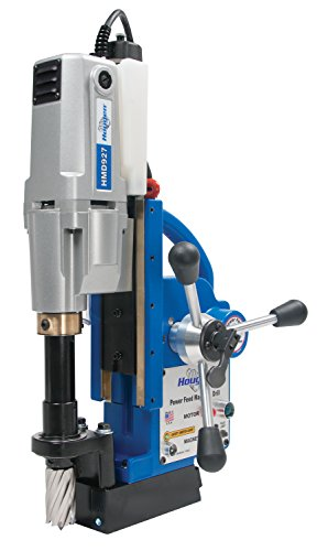 Hougen HMD927 Automatic Feed Magnetic Drill - 2 Speed 250 and 450 RPM/Integrated Coolant Bottle - 115V