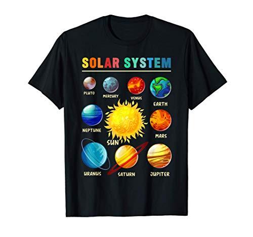 Pianeti del sistema solare per bambini, Scienza del sistema Maglietta