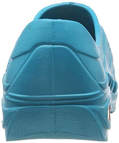 Oxypas oxyvaj3801nav Oxyva - Slip On SRC cómodo zuecos, 37/38 EU, Turquoise