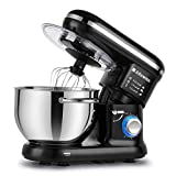 Alfawise Food Stand Mixer Dough Blender, 5.5 L Max 1090W Cake Mixer