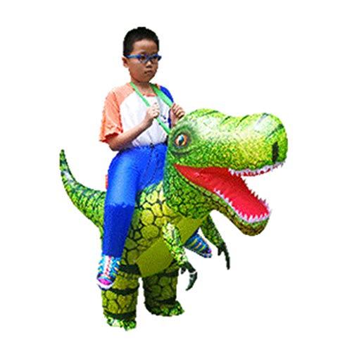 N/A. Disfraz inflable para adultos y nios, diseo de dinosaurio pintado para disfraz, disfraz de disfraz de vida silvestre, Halloween