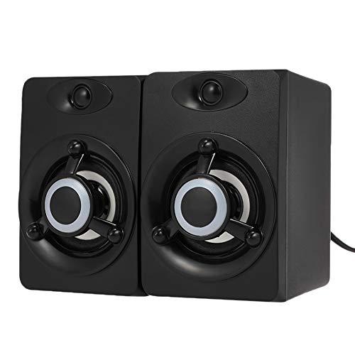 KAR Subwoofer Tiefer Bass PC-Lautsprecher-Bewegliche Musik DJ-USB-Netzteil Für Die Direkten Anschluss PC-Lautsprecher Für Laptop Telefon Fernseher