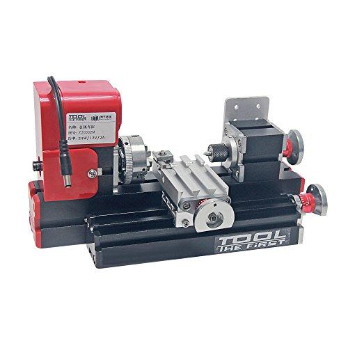 Signswise Motorized Mini Metal Lathe Machine
