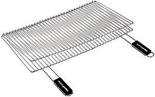 Cook'in Garden Gr026 - Griglia rettangolare doppia, 60 x 40 cm