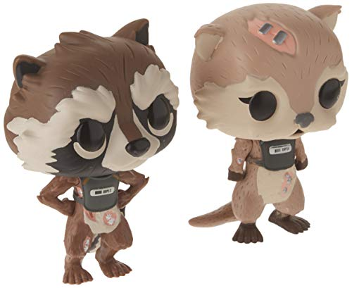 Funko POP! Marvel Guardianes de la galaxia: Rocket + Lylla