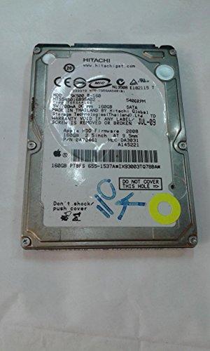 Hitachi Travelstar 5K500.B Festplatte HTS545016B9A300 intern 160 GB (2.5) SATA
