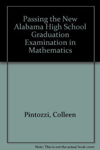 Passing the New Alabama High School Graduation Examination in Mathematics