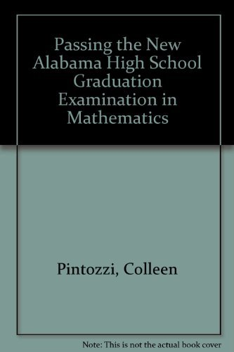 Passing the New Alabama High School Graduation Examination in Mathematics