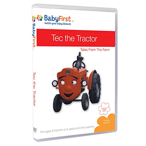 BabyFirstTV Tec the Tractor - Tales from the Farm DVD - PERFECT BIRTHDAY GIFT
