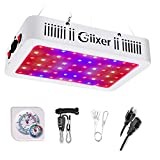 Giixer 600W LED Grow Light, Dual Switch & Dual Chips Full Spectrum Plant Light for Hydroponic Indoor Plants Veg and Flower- (10W LEDs 60Pcs)
