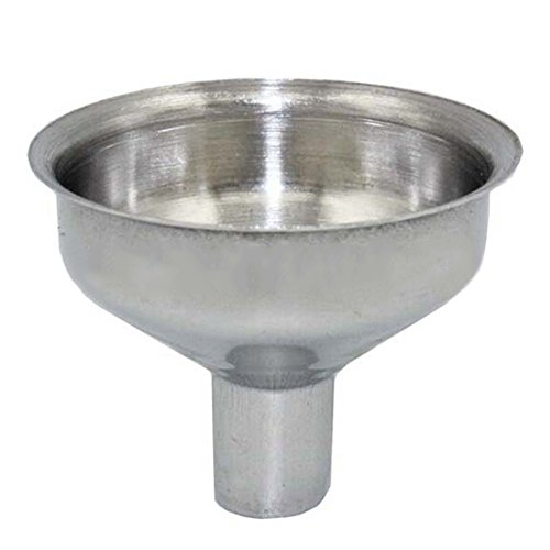 Stainless Steel Strainer Funnel Hip Flasks Pot Wine Filler for Transferring of Liquid, Fluid, Dry Ingredients and Powder