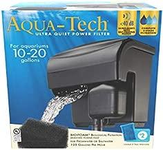AQUA-TECH Ultra Quiet Power Filter, for Aquariums 10-20 Gallons
