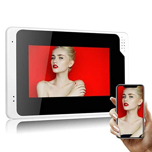 N-B WiFi Video Türklingel HD 1080P Bewegungserkennung Sprache Nachricht Video Gegensprechanlage 17,8 cm Kabel
