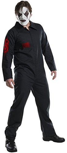 スリップノット ツナギ つなぎ 衣装 コスチューム 大人用 ジャンプスーツ 黒 ハロウィン ロックバンド