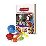Kinderleichte Becherküche: Band 1 (2. Auflage 2020) 'Für die Backprofis von morgen' | Backset inklusive 5 bunten Messbechern | Mit 15 leckeren ... Jahr: Backset inkl. 5-teiliges Messbecher-Set