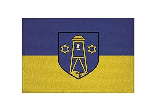 U24 Aufnäher Baltrum Fahne Flagge Aufbügler Patch 9 x 6 cm