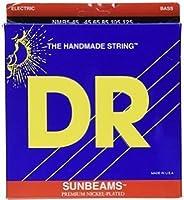 【国内正規輸入品】DR(ディーアール) SUNBEAMS NMR-45(45-105) エレキベース弦