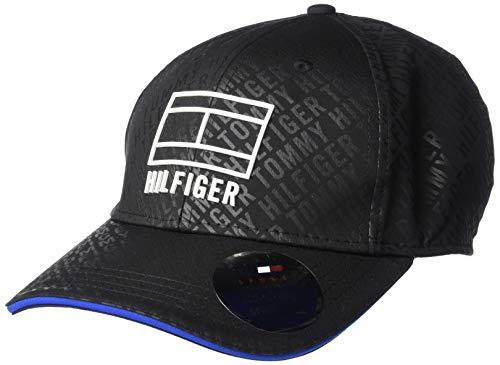 Tommy Hilfiger boné de beisebol masculino Sport Vitality, TH Deep Black, OS