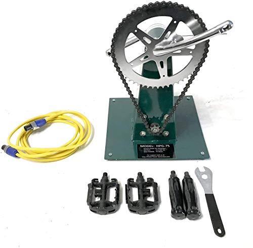 HPG-75 Human Power Generator Permanent Magnet DC Dynamo Emergency Backup STEM Power 0 to 50 Volts DC