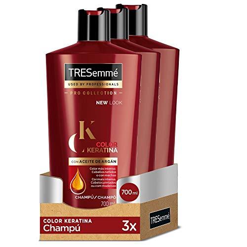 TRESemmé Champú Color Keratina - Paquete de 3 x...