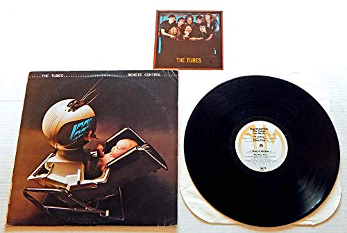 The Tubes Remote Control - A&M Records 1979 - Used Vinyl LP Record - 1979 Pressing SP-4751 Sterling - 6X6 Inch Insert Included - TV Is King - Only The Strong Survive - Telecide - Getoverture