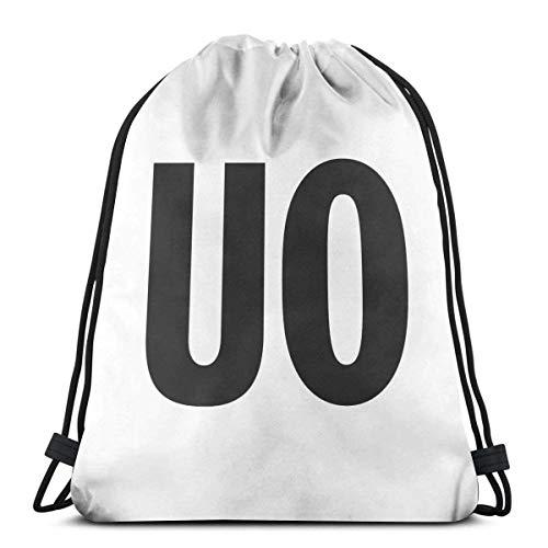 Urban Outfitters Kordelzug Rucksack für Frauen Kordelzug Taschen Sporttasche Sack Sackpack