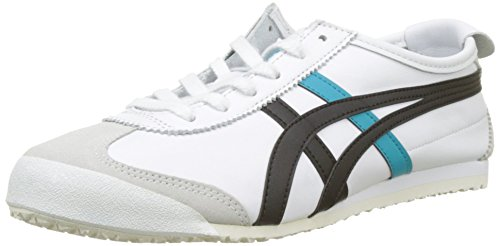 Asics Mexico 66, Zapatillas de Deporte Unisex Adulto, Blanco (White/Black 100), 49 EU