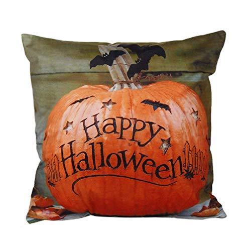 Eastery Halloween pluizig hoeslaken voor thuis, sofakussensloop, kussen IKEA, moderne hoge bekleding, eenvoudige stijl, zacht katoen