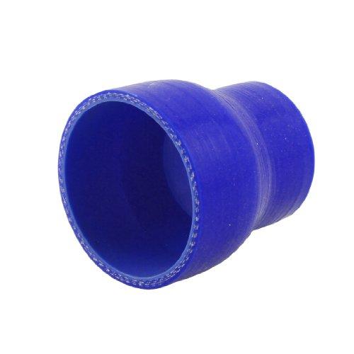 sourcing map Silicone Rubber dunkelblau gerade Ruducer 50-70mm Schlauch de