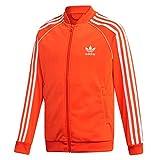adidas Originals Superstar Track Top - Chaqueta deportiva para niños, color naranja, talla: 176, color: naranja