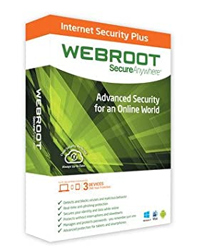 Webroot Secureanywhere Internet Security Plus 2014 - 3 Devices