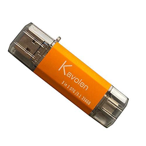 3 in 1 32GB USB Flash Drive/Photo Stick for Samsung Galaxy S6/S7/S8/S8+/S9/S9+/S10, Note5/7/8/9, A70/A80/A90/A10/A6S/A9S LG Q7 Q8,LG Stylo3/4,G4 G5 G6 G7 V20 V30 V35 V40, Google Pixel, Moto etc.