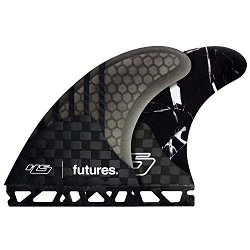 Futuros aletas–Futuro V2HS1Generación Series..., Unisex, negro, large