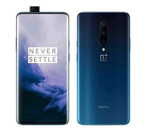 OnePlus 7 Pro Smartphone Nebula Blue (16,9 cm) AMOLED Bildschirm 8 GB RAM + 256 GB Speicher, Triple Kamera (48 MP) Pop-up Kamera (16 MP) – Dual SIM Handy (Generalüberholt)
