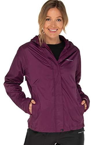 Arctix Women's River Rain Jacket, Plum, Large