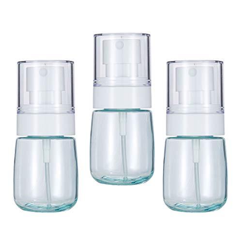 Bonarty 3pcs Flacons Vide 30ml, Pulvérisateurs à Brume Fine Spray de Maquillage/Parfums/Cosmétique - Bleu