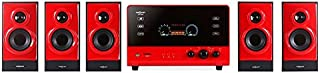 OneConcept V51 – Système de Son Surround 5.1, Home cinéma, 70 Watt RMS, Subwoofer..