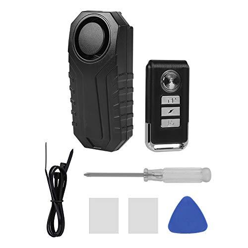 Alarma de control remoto inalámbrico, bicicleta/triciclo eléctrico/alarma de vibración de puerta/ventana Alarma antirrobo inteligente con IP 55 a prueba de agua