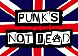 Punks Not Dead Anarchy The Ramones Flagge, 152 x 91 cm
