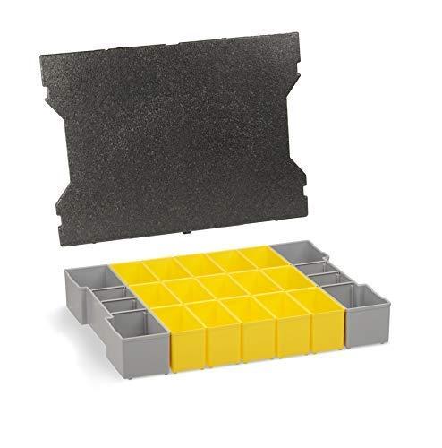 Einsätze Werkzeugkoffer | B3 Einsätze mit Deckenpolster | Für die L-BOXX 102 G4 | Sortimentskasten Schrauben | Idealer Werkzeugkoffer Einsatz