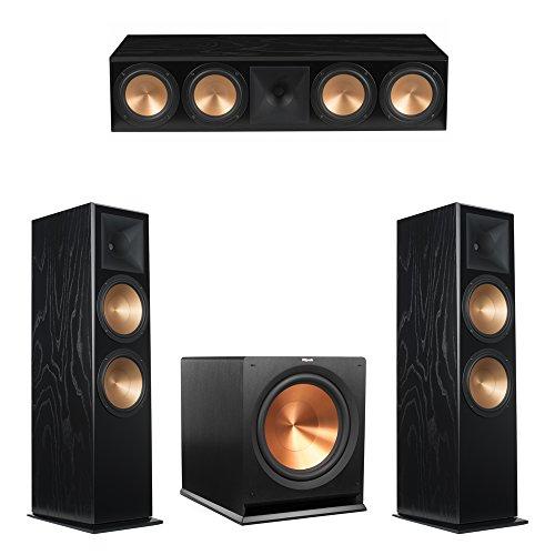 Amazing Deal Klipsch 3.1 Black Ash System with 2 RF-7 III Floorstanding Speakers, 1 RC-64 III Center...