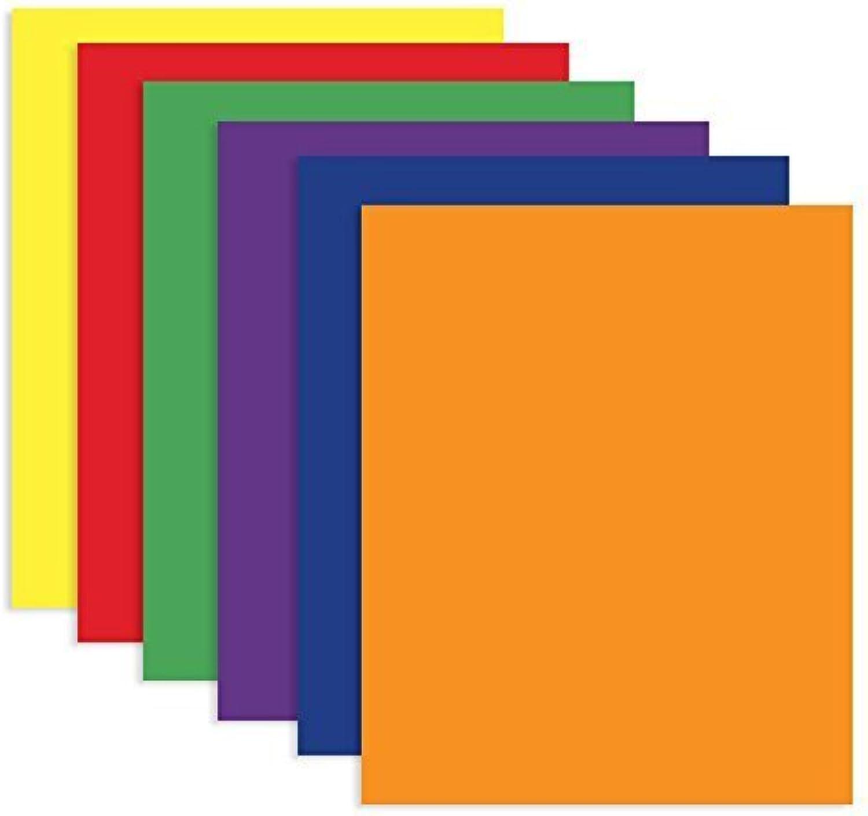 6 Pk, Bazic 2-pocket Portfolios, Assorted Farbes Farbes Farbes by Bazic B019PFU3FM   Verschiedene Arten und Stile  e74e4c