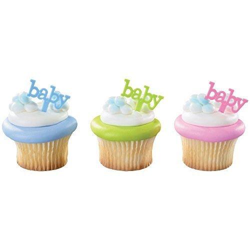 Decopac Toys 36052 DecoPac Safari Animal Babies DecoPic Cupcake Picks 12 Count