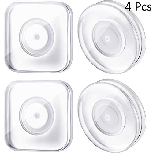 4 Pieces Nano Magic Paste Phone Holder Nano Gel Pad PU Materia Traceless Magic Sticker Reusable Nano Casual Paste for Car, Home,Office Storage of Various Small Device and Items