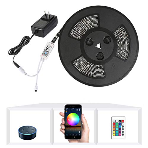 Nexlux LED Strip Lights, WiFi Wireless Smart Phone Controlled